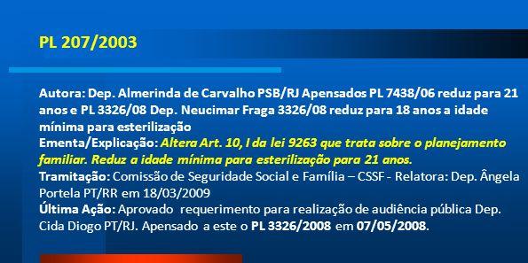 PL 207/2003