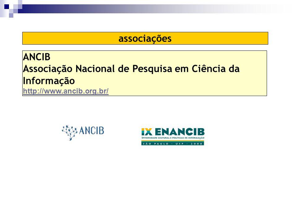 Associação Nacional de Pesquisa em Ciência da Informação