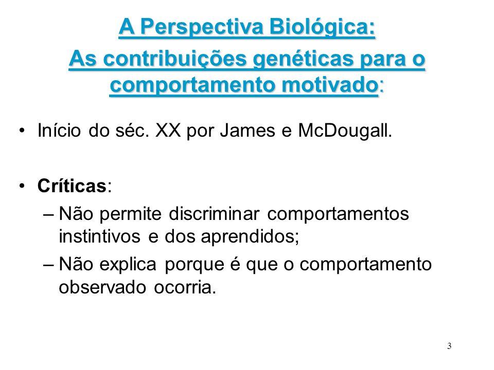 A Perspectiva Biológica: