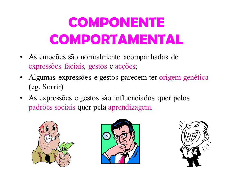 COMPONENTE COMPORTAMENTAL