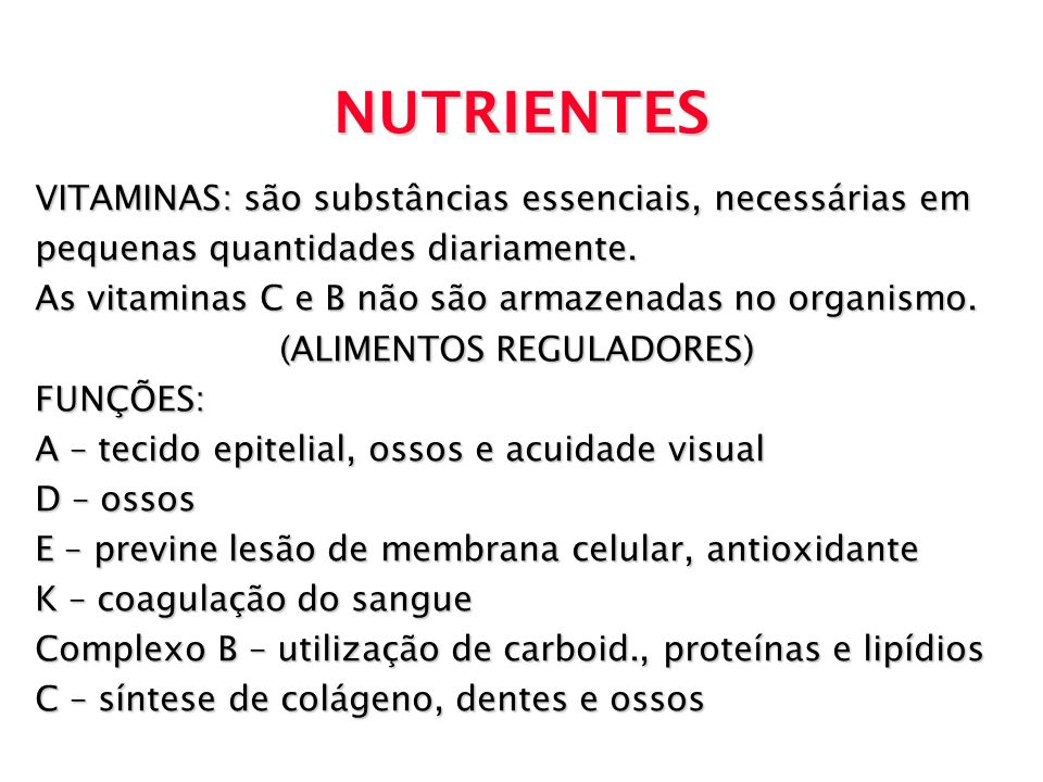 (ALIMENTOS REGULADORES)
