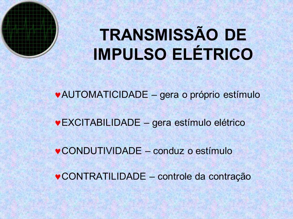 TRANSMISSÃO DE IMPULSO ELÉTRICO