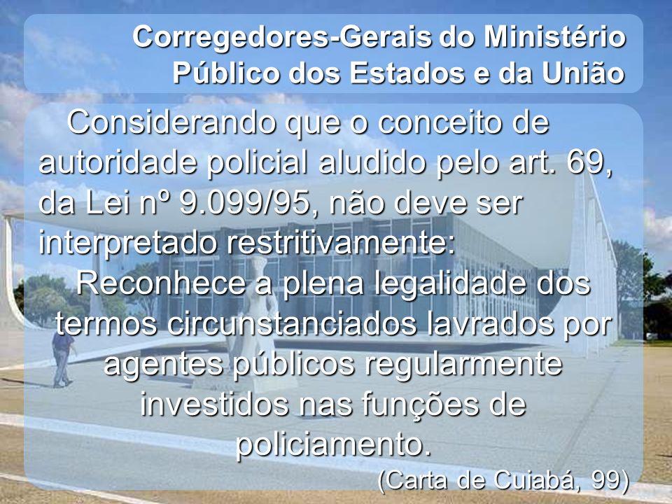 Corregedores-Gerais do Ministério Público dos Estados e da União