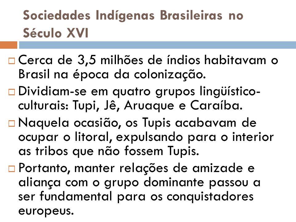 Sociedades Indígenas Brasileiras no Século XVI