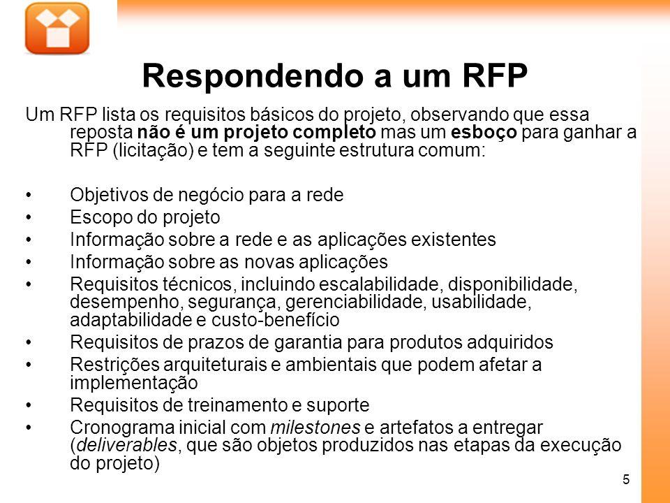 Respondendo a um RFP