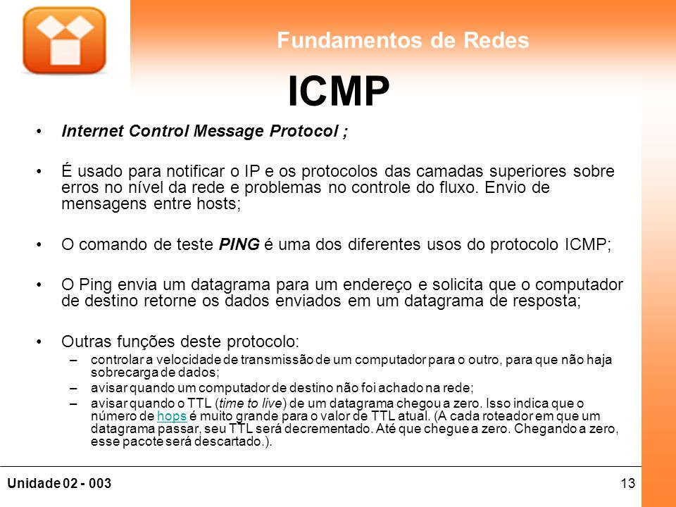 ICMP Internet Control Message Protocol ;