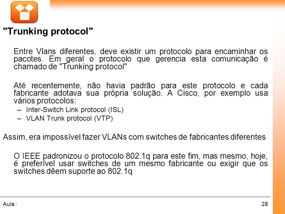 Trunking protocol
