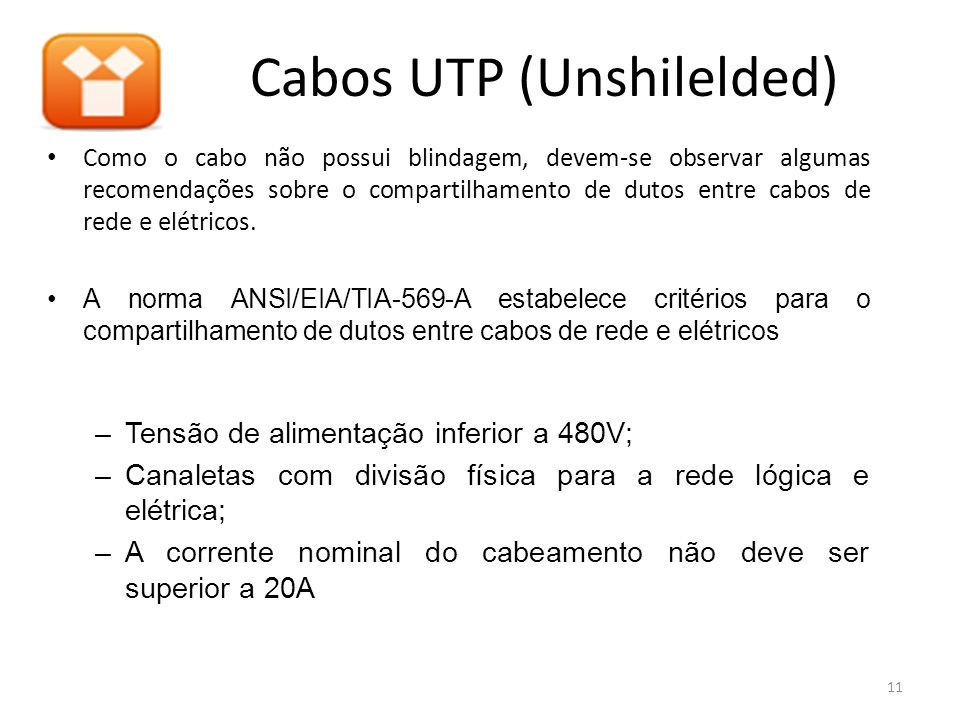 Cabos UTP (Unshilelded)