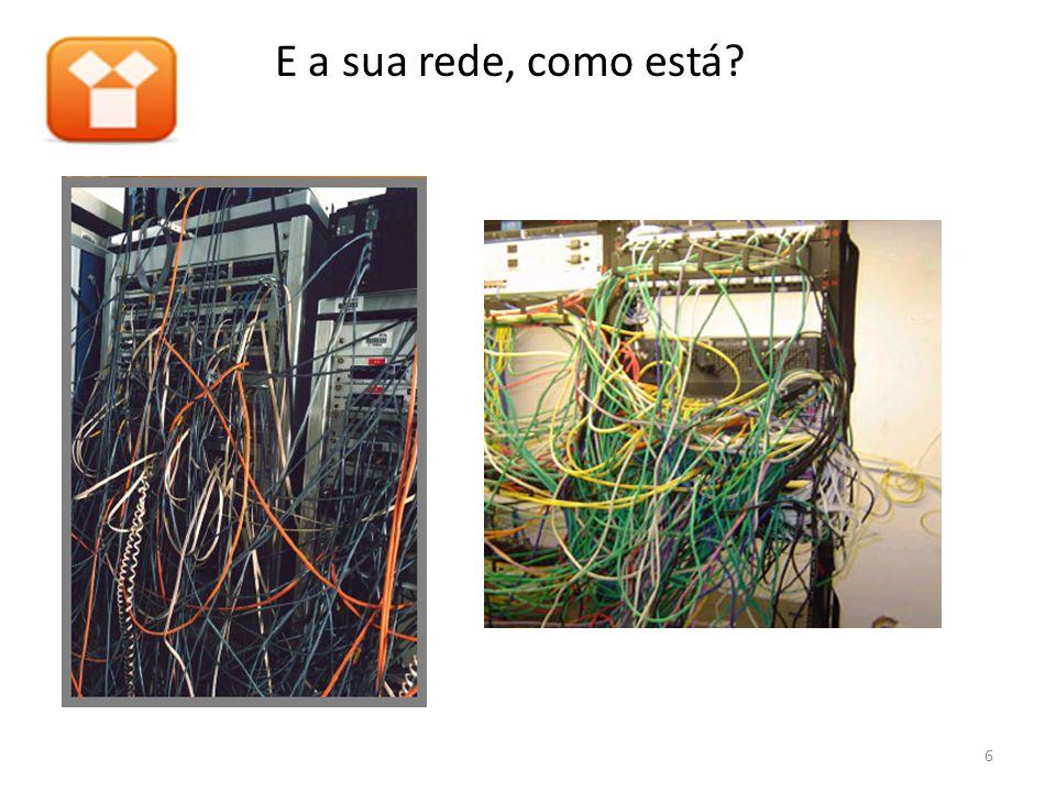 E a sua rede, como está 6