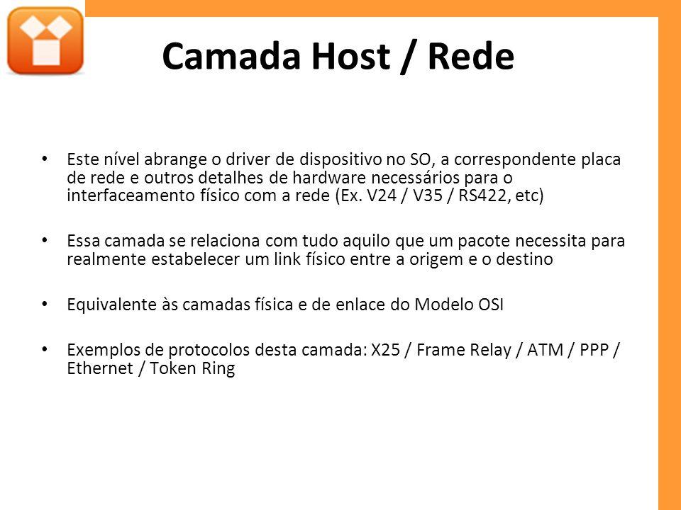 Camada Host / Rede