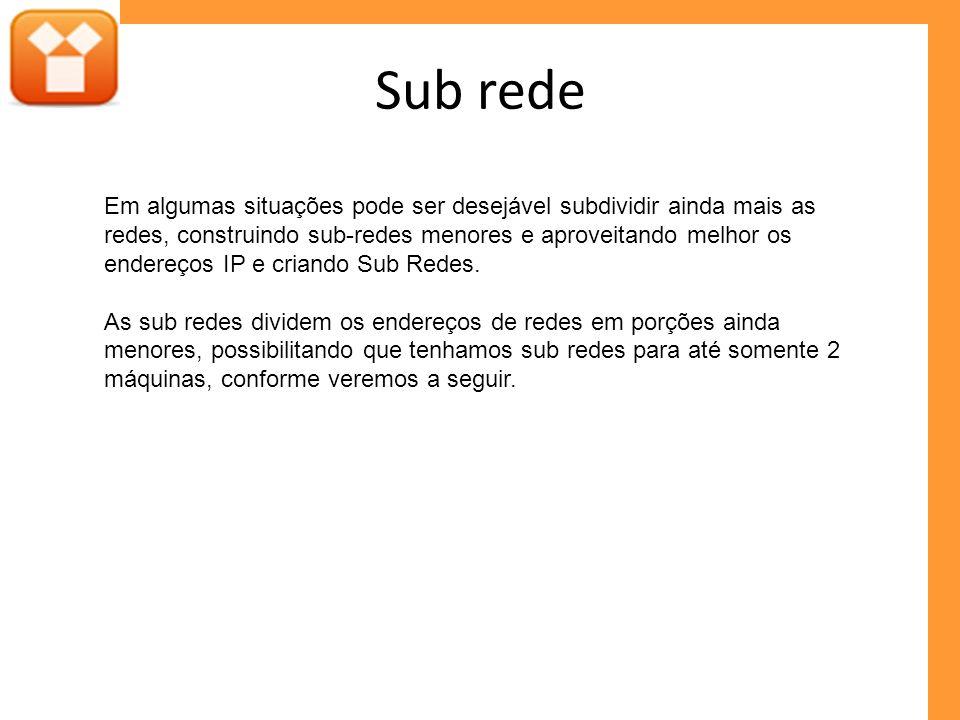 Sub rede