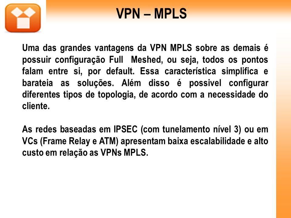 VPN – MPLS