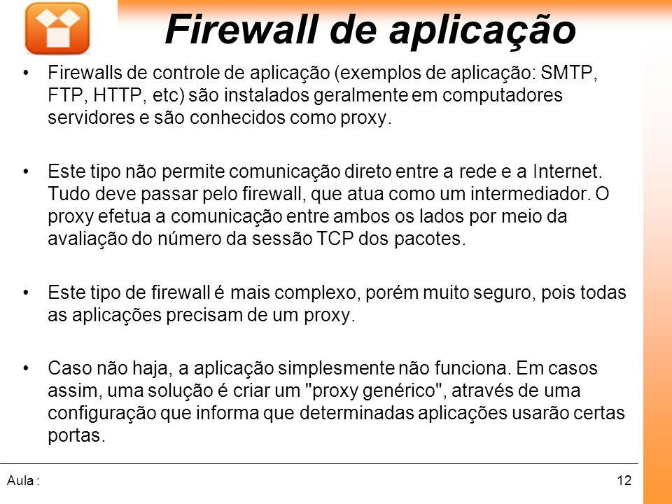 Firewall de aplicação