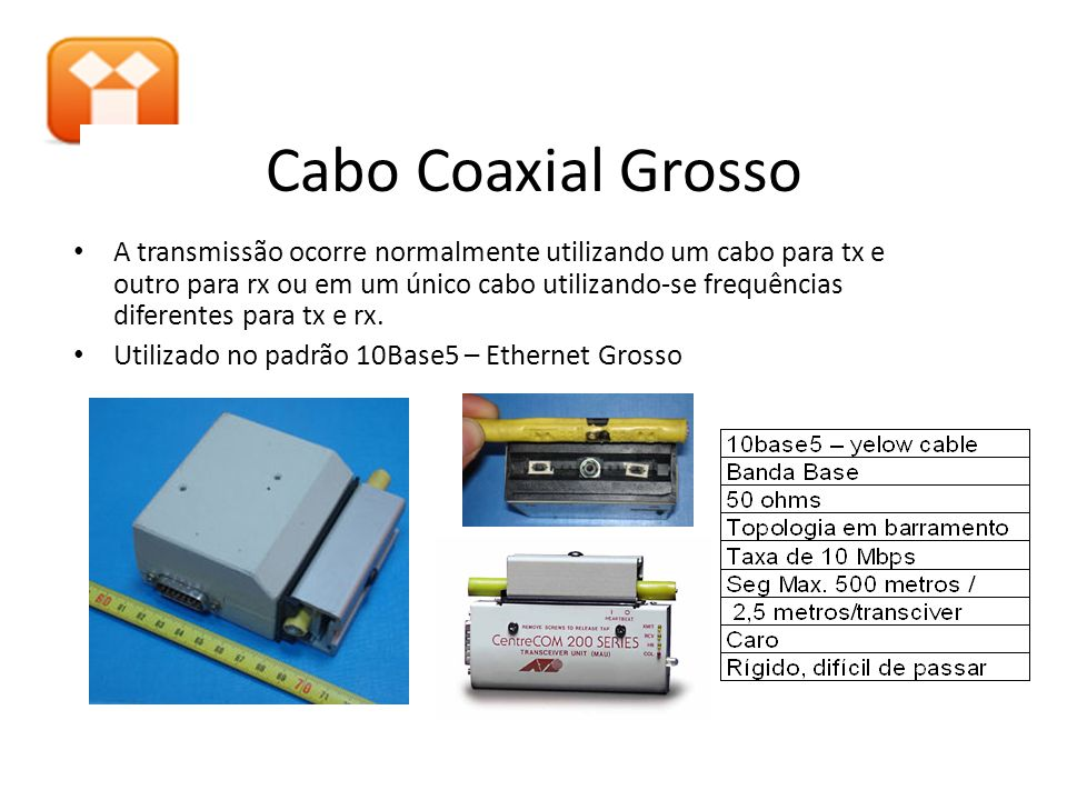 Cabo Coaxial Grosso