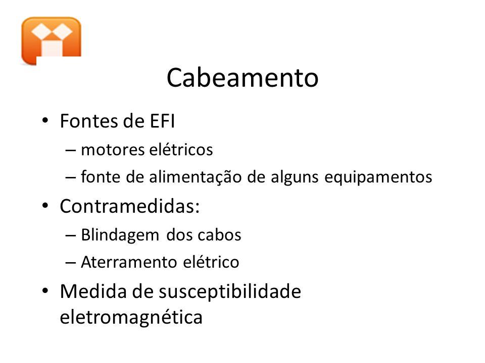Cabeamento Fontes de EFI Contramedidas: