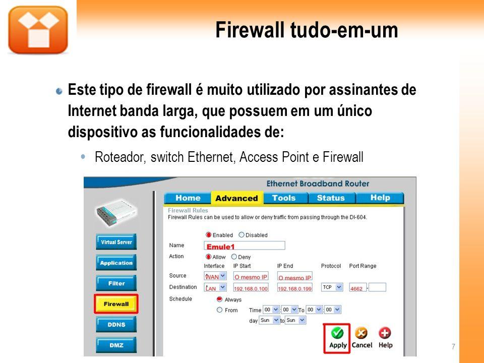 Firewall tudo-em-um