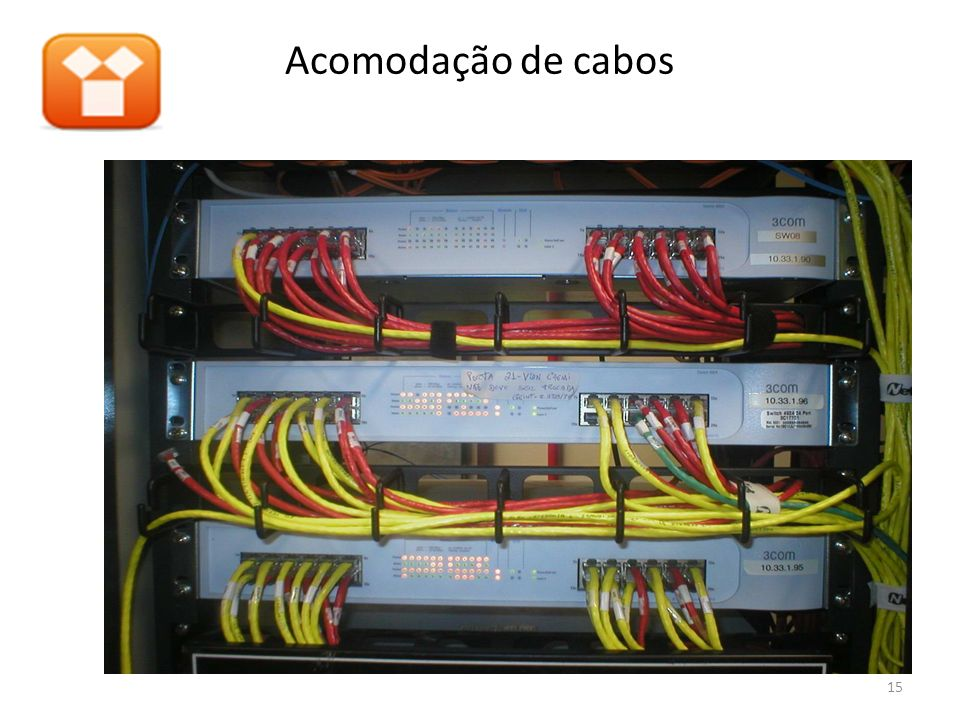 Acomodação de cabos 15