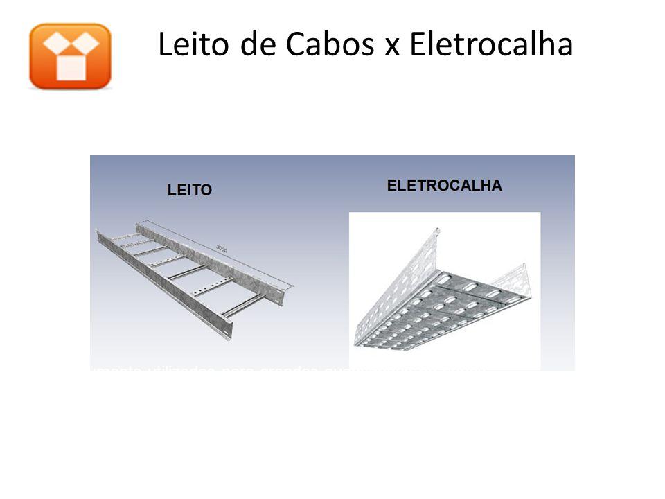 Leito de Cabos x Eletrocalha