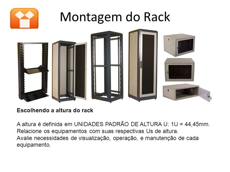Montagem do Rack