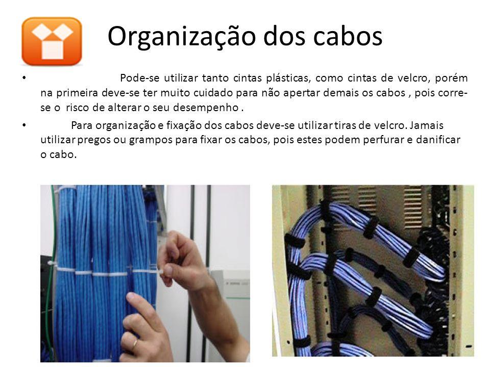 Organização dos cabos