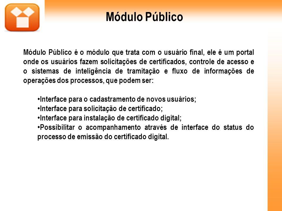 Módulo Público