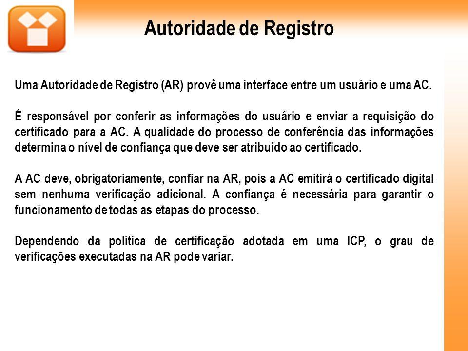 Autoridade de Registro