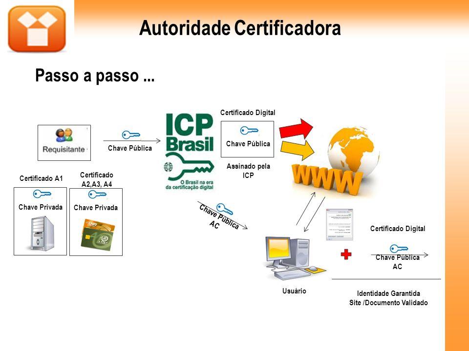 Autoridade Certificadora Identidade Garantida Site /Documento Validado