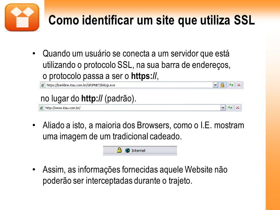 Como identificar um site que utiliza SSL