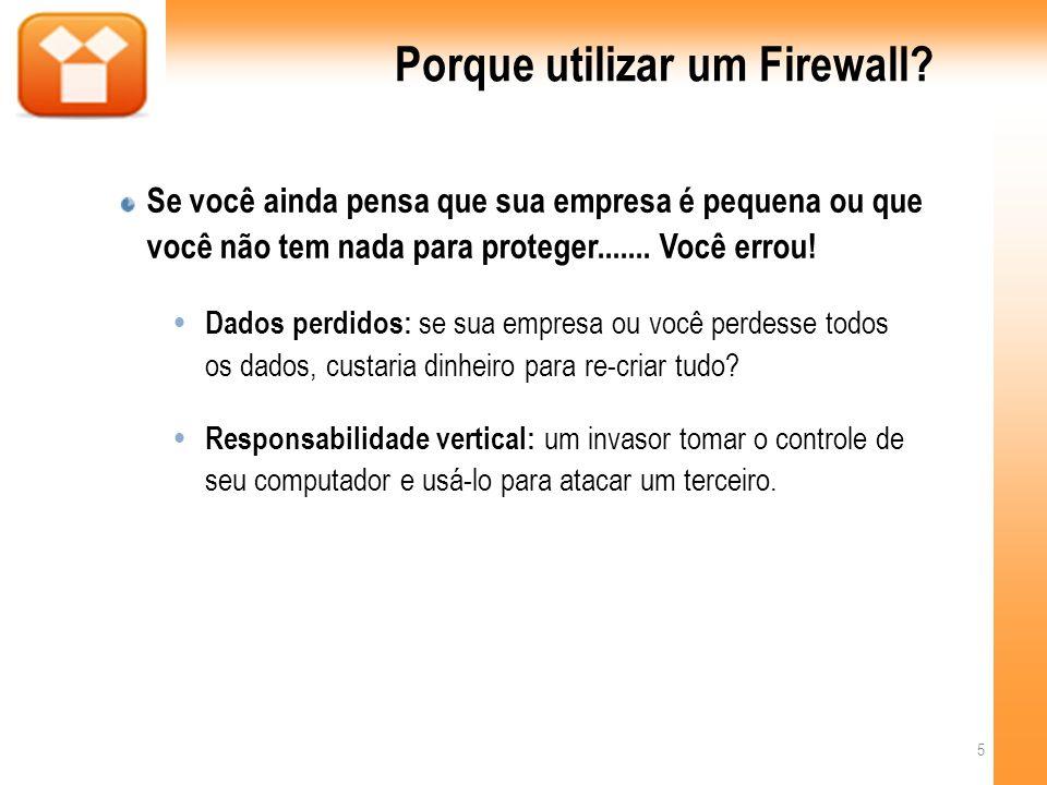 Porque utilizar um Firewall