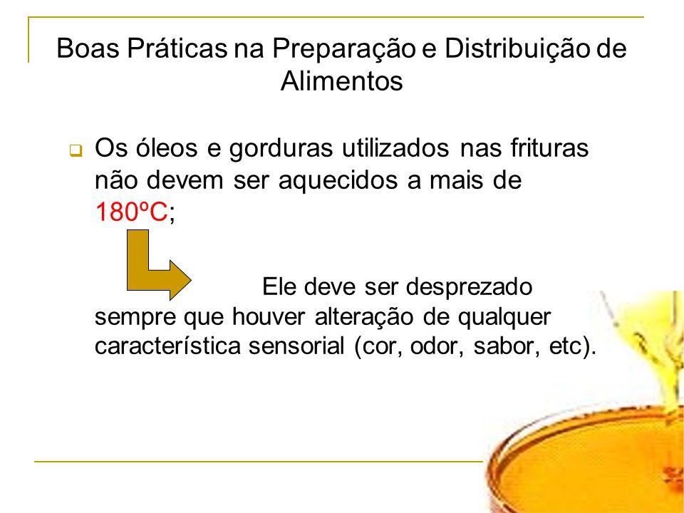 Boas Práticas na Preparação e Distribuição de Alimentos