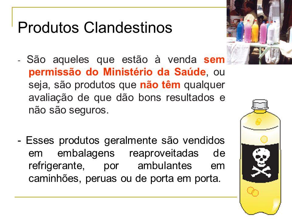 Produtos Clandestinos