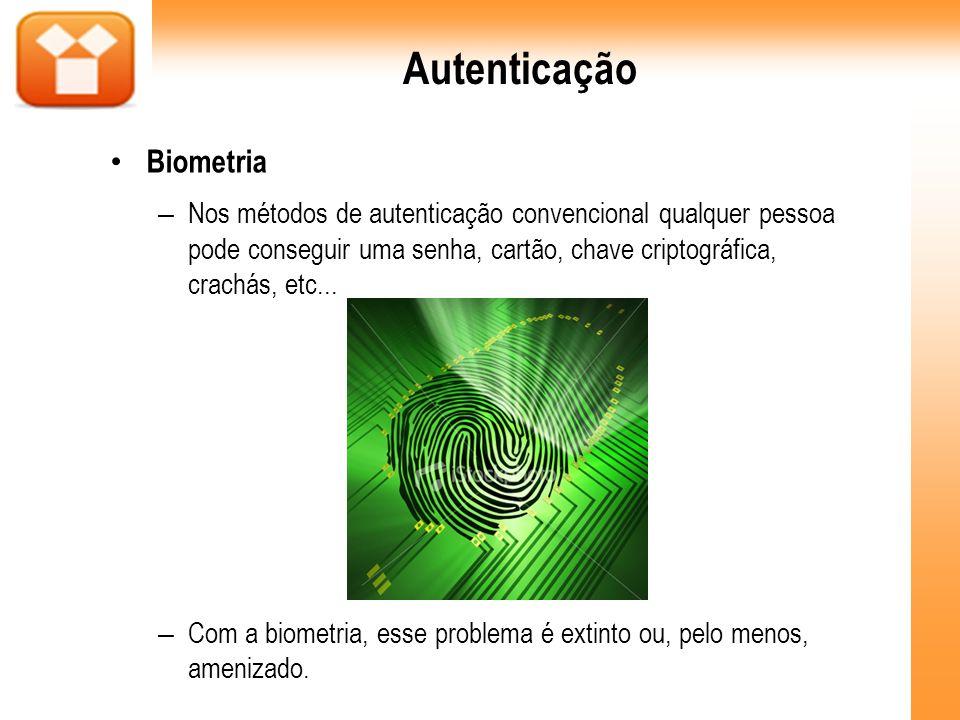 Autenticação Biometria