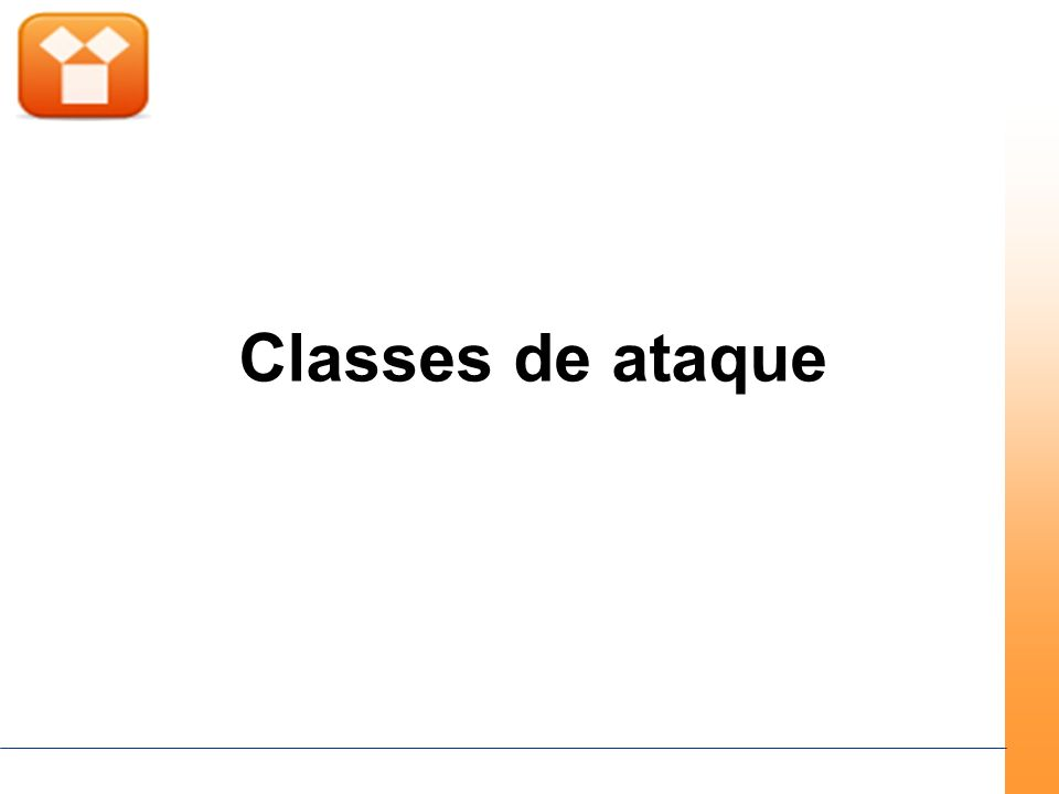 Classes de ataque
