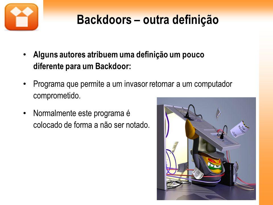 Backdoors – outra definição