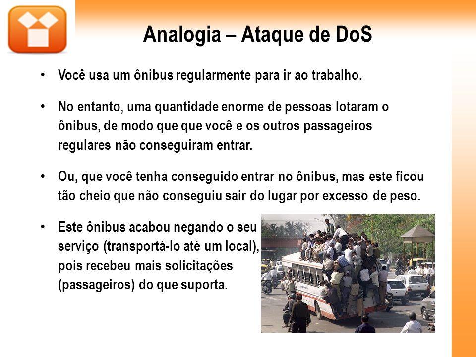 Analogia – Ataque de DoS