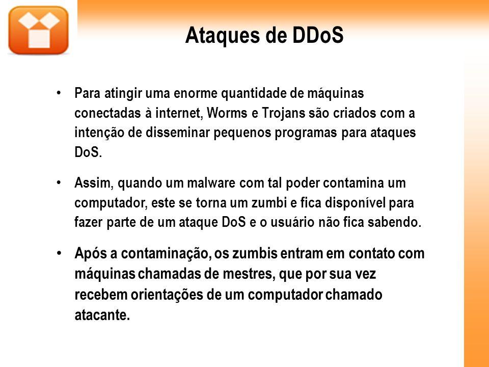 Ataques de DDoS