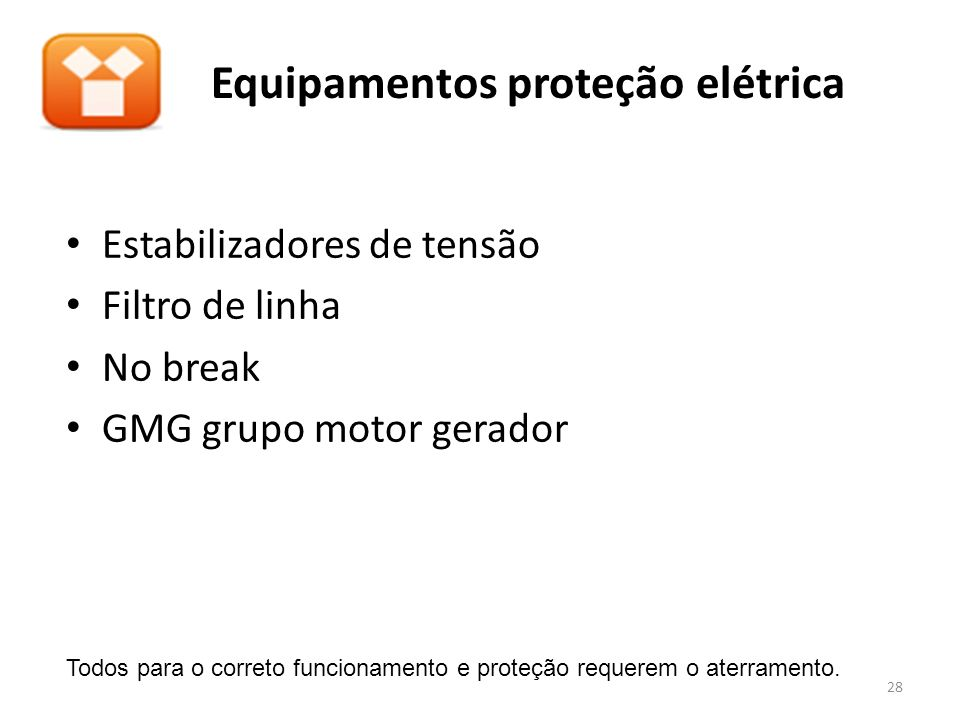 Equipamentos proteção elétrica