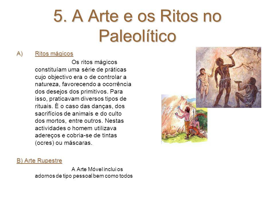 5. A Arte e os Ritos no Paleolítico