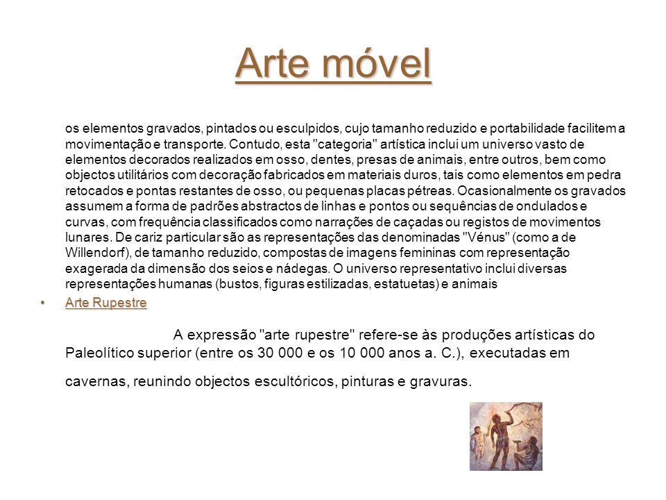 Arte móvel
