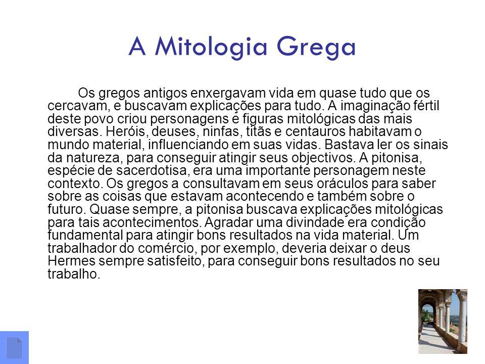 A Mitologia Grega