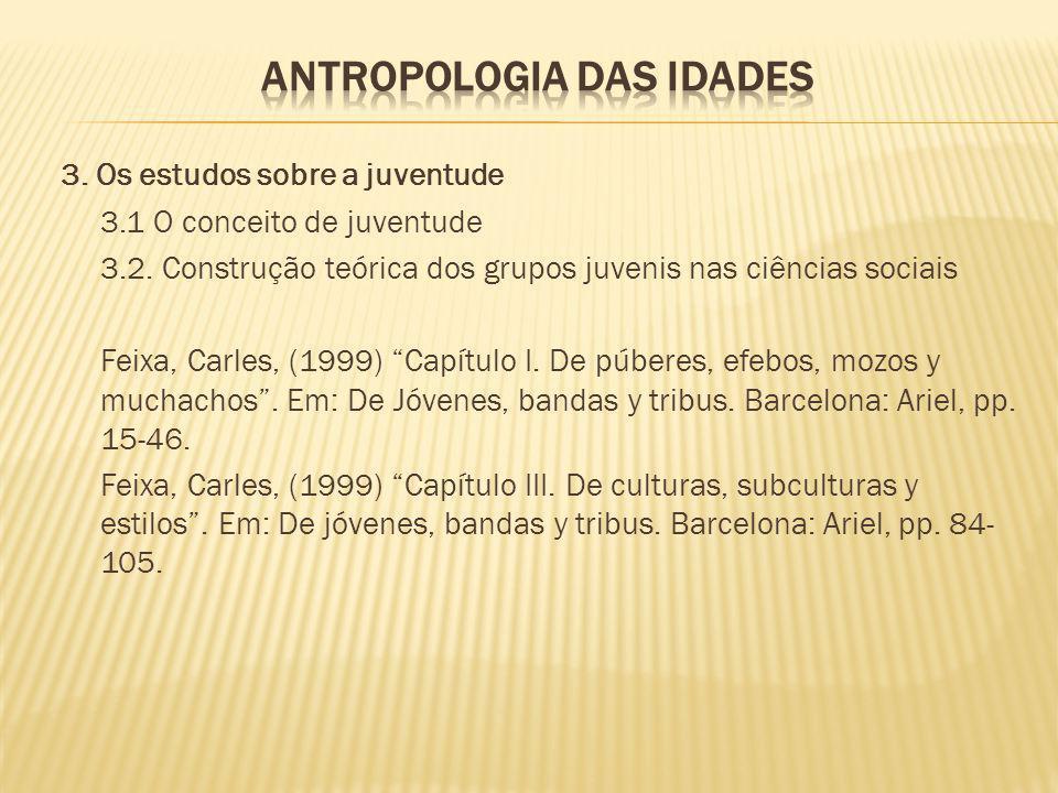 Antropologia das idades