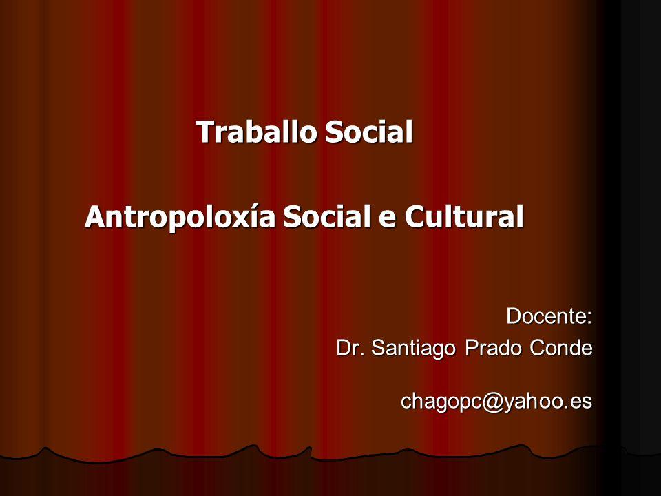 Antropoloxía Social e Cultural