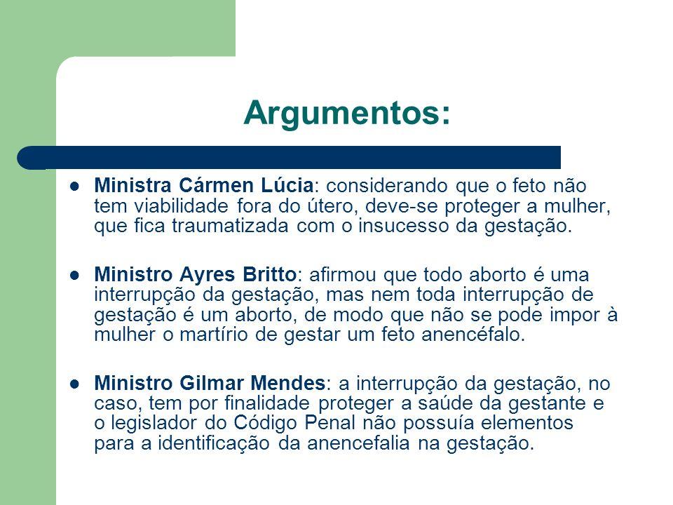 Argumentos: