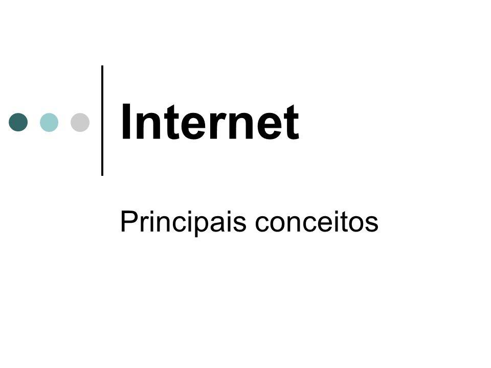 Internet Principais conceitos