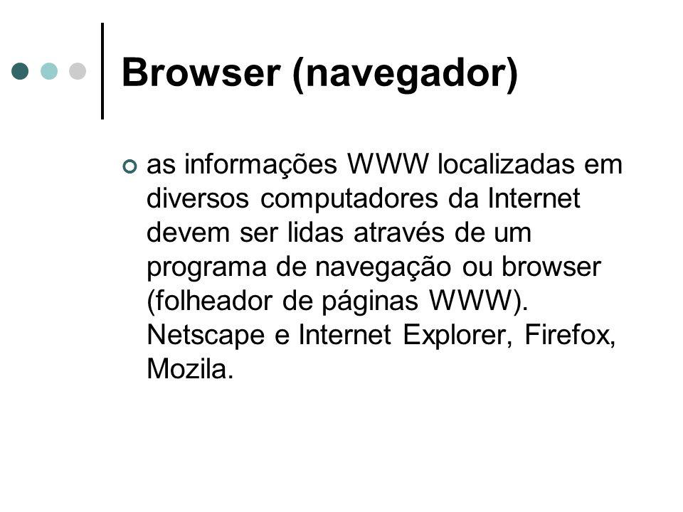 Browser (navegador)