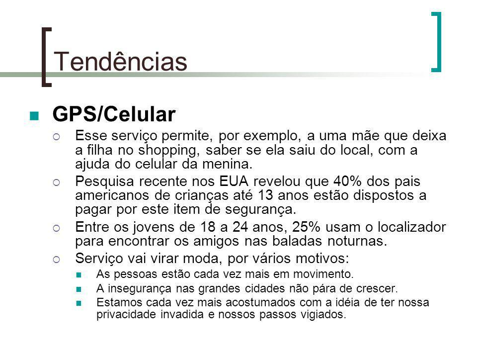 Tendências GPS/Celular