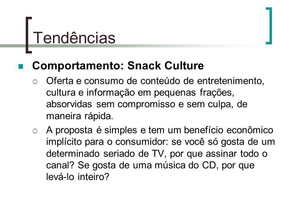 Tendências Comportamento: Snack Culture