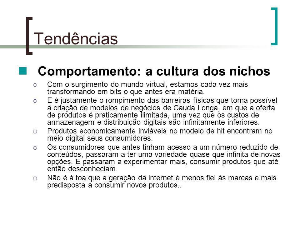 Comportamento: a cultura dos nichos