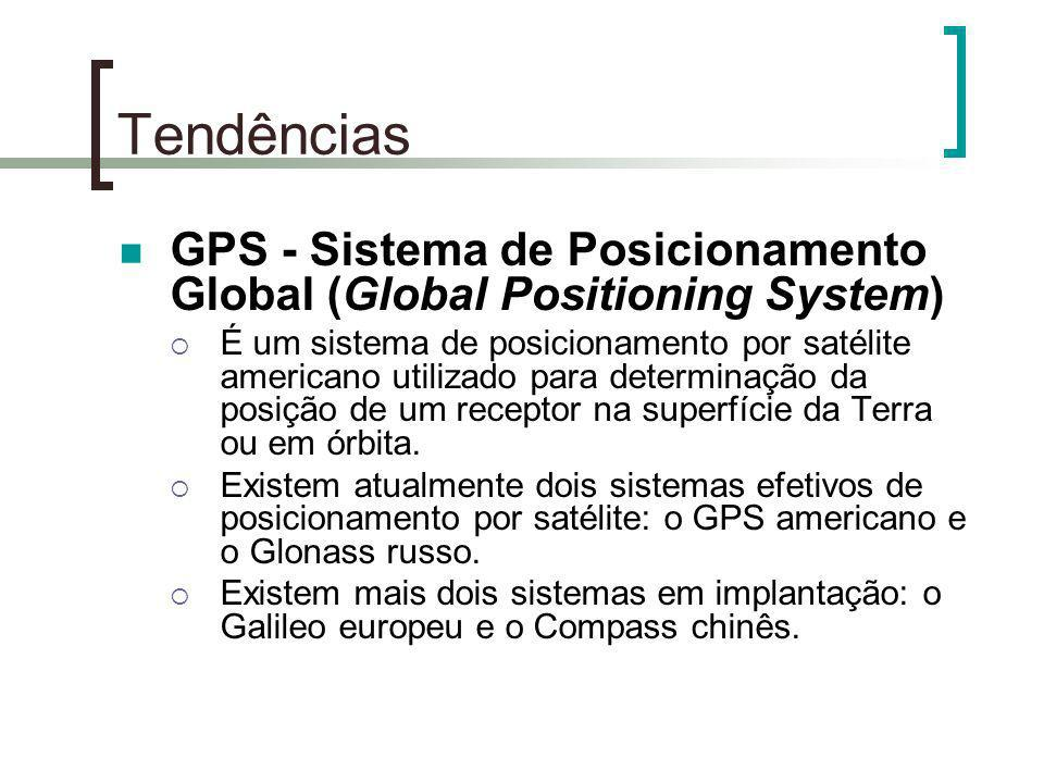 Tendências GPS - Sistema de Posicionamento Global (Global Positioning System)