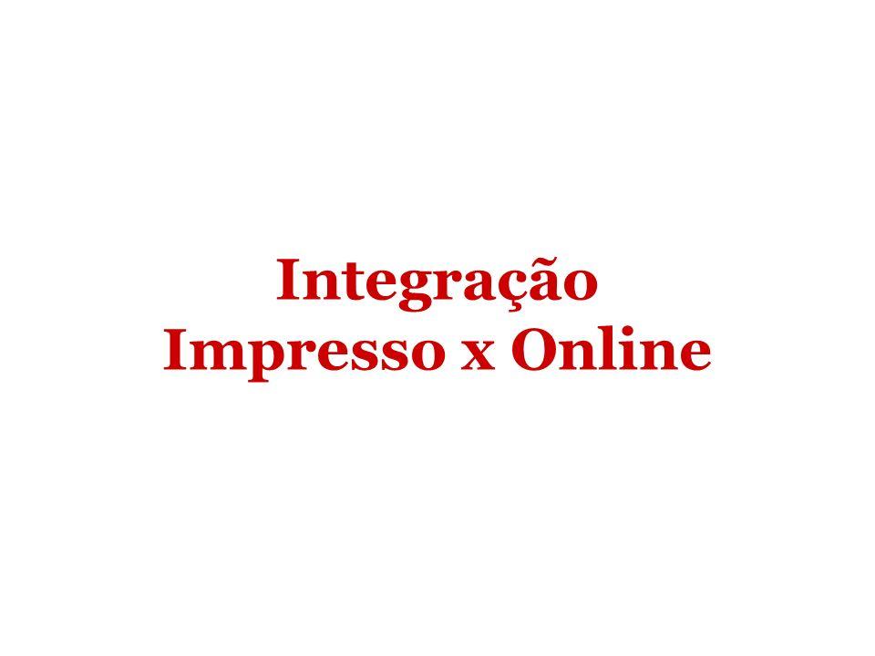 Integração Impresso x Online